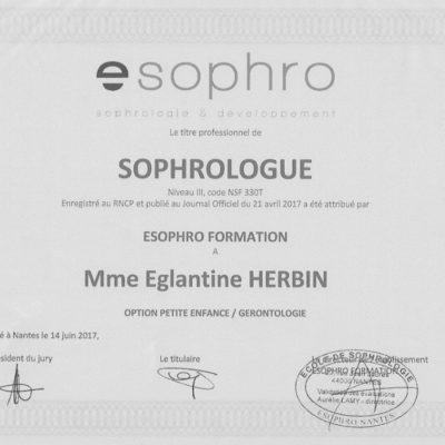 Le Lieu Re Source : Diplome E Sophro